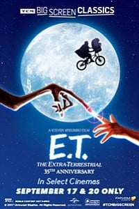 E.T. The Extra-Terrestrial movie poster