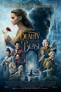 Beauty and the Beast in Disney Digital 3D movie poster