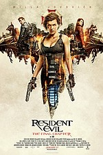 Resident Evil: The Final Chapter 3D