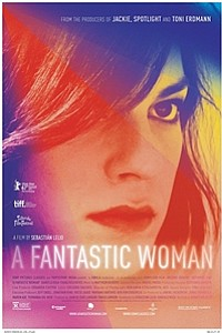 Fantastic Woman (Una mujer fantastica) movie poster