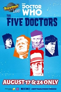 RiffTrax Live: Doctor Who - The Five Doctors movie poster