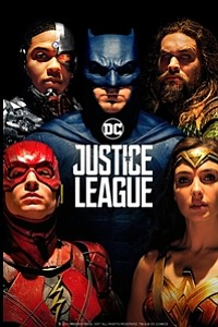 Justice League in 3D movie poster