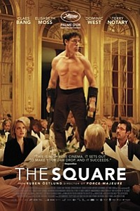 Square movie poster
