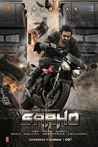 Saaho (Telugu) movie poster