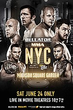 Bellator NYC: Sonnen vs. Silva