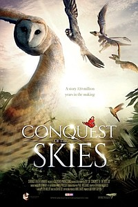 David Attenborough's Conquest of the Skies 3D movie poster