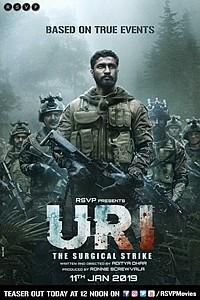 Uri: The Surgical Strike (Hindi) movie poster