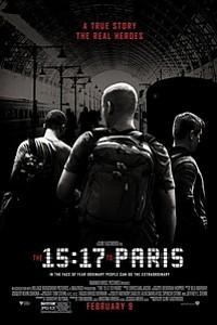 15:17 to Paris movie poster