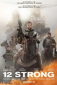 12 Strong: The IMAX 2D Experience movie poster
