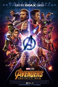 Avengers: Infinity War The IMAX 2D Experience movie poster