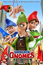 Sherlock Gnomes in 3D
