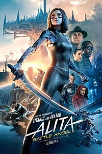 Alita: Battle Angel 3D movie poster