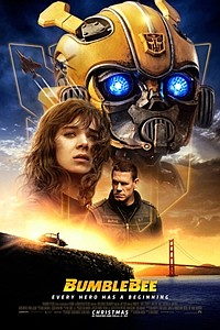 Bumblebee in 3D movie poster