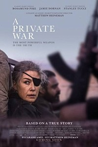 Private War movie poster