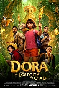 Dora and the Lost City of Gold movie poster