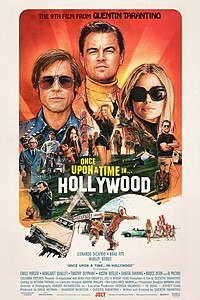 Once Upon a Time...in Hollywood movie poster