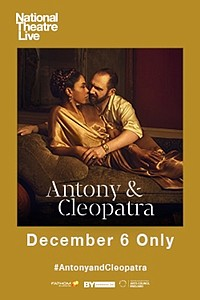 National Theatre Live: Antony & Cleopatra movie poster