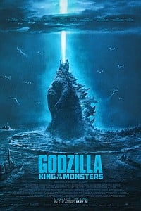 Godzilla: King of the Monsters in 3D movie poster