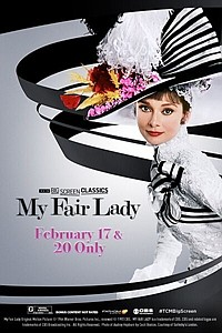 My Fair Lady 55th Anniversary (1964) presented by TCM movie poster