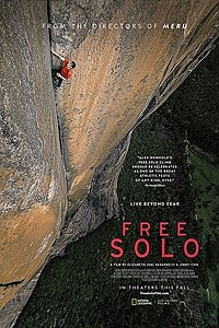 Free Solo: The IMAX 2D Experience movie poster