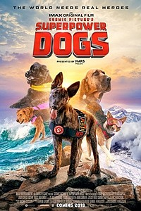 Superpower Dogs: The IMAX 2D Experience movie poster