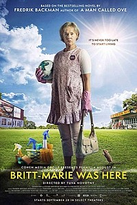 Britt-Marie Was Here movie poster