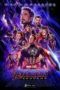 Avengers: Endgame 3D movie poster
