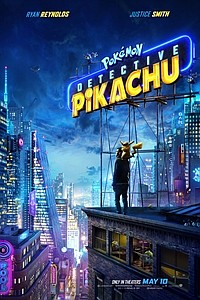 Pokémon Detective Pikachu 3D movie poster