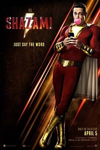 Fandango Early Access: Shazam! movie poster