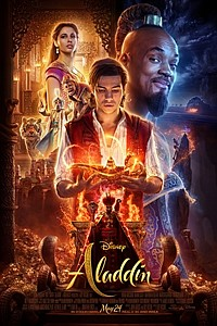 Aladdin in RealD 3D movie poster