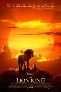Lion King in RealD 3D movie poster