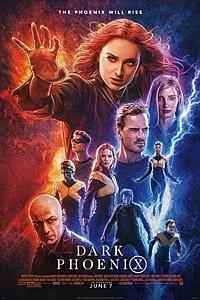 Dark Phoenix 3D movie poster
