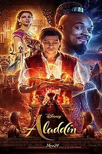 Opening Night Fan Event: Aladdin 3D movie poster