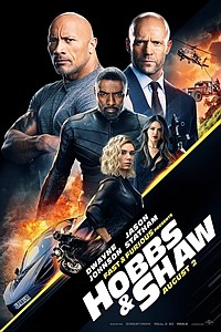Fast & Furious Presents: Hobbs & Shaw The IMAX 2D Experience movie poster