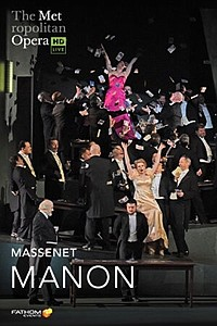 Metropolitan Opera: Manon ENCORE movie poster