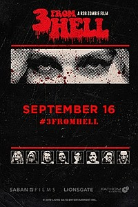 Rob Zombie's 3 From Hell - Night One movie poster