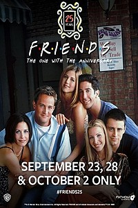 Friends 25th: The One With The Anniversary movie poster