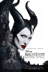 Maleficent: Mistress of Evil 3D movie poster