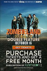Zombieland: Double Tap - Double Feature movie poster