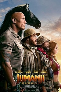Jumanji: The Next Level - The IMAX 2D Experience movie poster