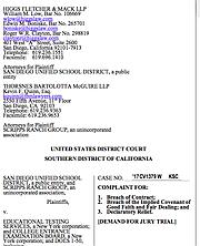 Update San Diego Unified Sues College Board San Diego Reader