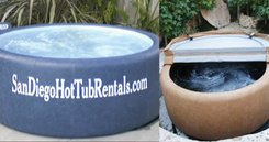 Rentable, Blow-Upable Hot Tubs