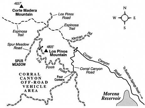 Climb Los Pinos Mountain by mountain bike, and enjoy