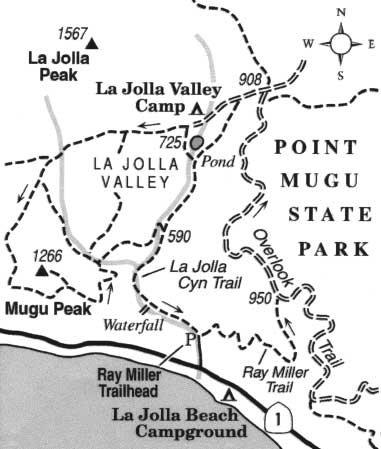 Explore native grasslands and climb Mugu Peak at Ventura