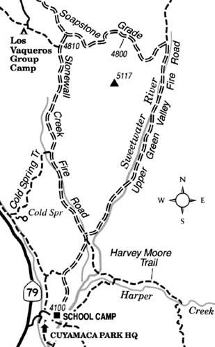 Travel the Stonewall Creek/Soapstone Grade loop in the