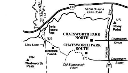 Hike Chatsworth's Old Stagecoach Road, a crucial link in a