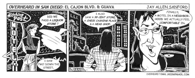 El Cajon Boulevard & Guave