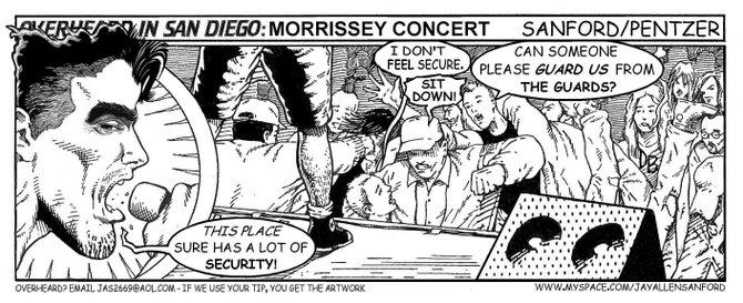 Morrissey concert
