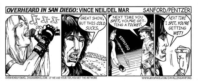 Vince Neil, Del Mar