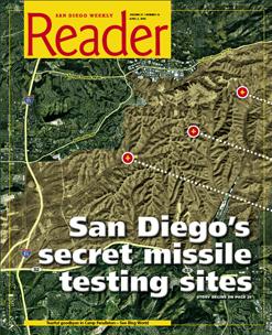 San Diego's secret missile-testing sites   San Diego Reader